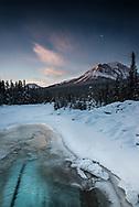 Bow River sunrise., Alberta, Canada, Isobel Springett