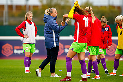 Tanya Oxtoby manager of Bristol City Women - Mandatory by-line: Ryan Hiscott/JMP - 14/10/2018 - FOOTBALL - Stoke Gifford Stadium - Bristol, England - Bristol City Women v Birmingham City Women - FA Women's Super League 1