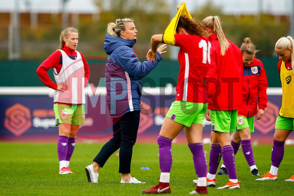 Tanya Oxtoby manager of Bristol City Women - Mandatory by-line: Ryan Hiscott/JMP - 14/10/2018 - FOOTBALL - Stoke Gifford Stadium - Bristol, England - Bristol City Women v Birmingham City Women - FA Women's Super League 1
