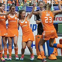 DEN HAAG - Rabobank Hockey World Cup<br /> 38 Final: Netherlands - Australia<br /> Netherlands world champion.<br /> Foto: Kim Lammers.<br /> COPYRIGHT FRANK UIJLENBROEK FFU PRESS AGENCY