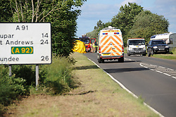 RTC, A91, 23-06-2017<br /> <br /> RTC just to the east of the Glenfarg junction on the A91<br /> <br /> (c) David Wardle | Edinburgh Elite media