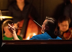07.04.2019, Grosses Festspielhaus, Salzburg, AUT, Salzburger Osterfestspiele, Fotoprobe, Die Meistersinger von Nürnberg (Oper von Richard Wagner), im Bild Dirigent Christian Thielemann // during the rehearsal of the opera the Mastersingers of Nuremberg (Opera by Richard Wagner). The Salzburg Easter Festival takes place from 13 April to 23 April  2019, at the Grosses Festspielhaus in Salzburg, Austria on 2019/04/07. EXPA Pictures © 2019, PhotoCredit: EXPA/ Ernst Wukits