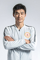 **EXCLUSIVE**Portrait of Chinese soccer player Wan Houliang of Beijing Renhe F.C. for the 2018 Chinese Football Association Super League, in Shanghai, China, 24 February 2018.