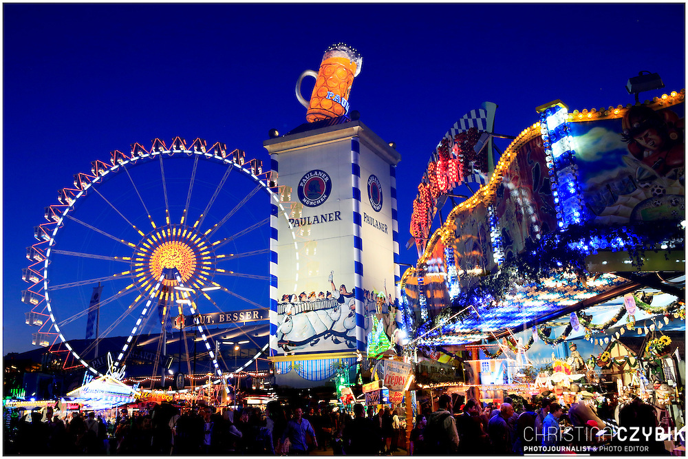 Fine Art Night Photography: The Double Exposure Series of Oktoberfest in Munich, Germany