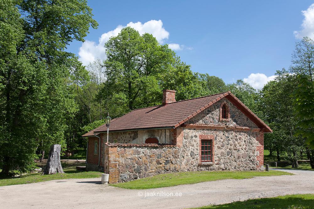 Smithy, Olustvere Manor, Viljandi County, Estonia, Europe