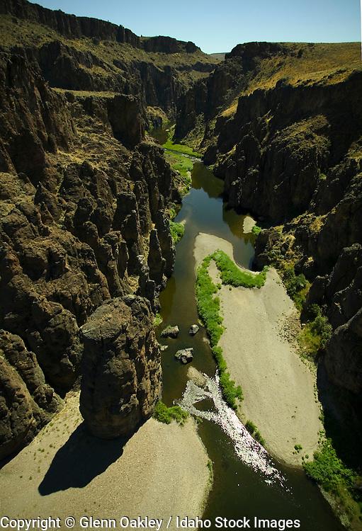 Owyhee River canyon, aerial, Oregon, Idaho