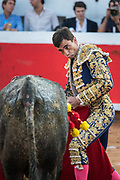 Bullfighter Paco Urena at the Plaza de Toros March 3, 2018 in San Miguel de Allende, Mexico.