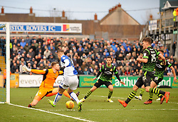Billy Bodin of Bristol Rovers pulls the ball back across the goal - Mandatory by-line: Neil Brookman/JMP - 23/12/2017 - FOOTBALL - Memorial Stadium - Bristol, England - Bristol Rovers v Doncaster Rovers - Sky Bet League One