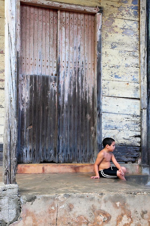 Boy in Baracoa, Guantanamo, Cuba.