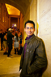 """Sean Au, director of """"San Jose Tofu Co.,"""" poses for a photograph at the Gala for the CAAM Film Festival, at the Asian Art Museum, Thursday, May 10, 2018 in San Francisco, Calif. (D. Ross Cameron/SF Chronicle)"""