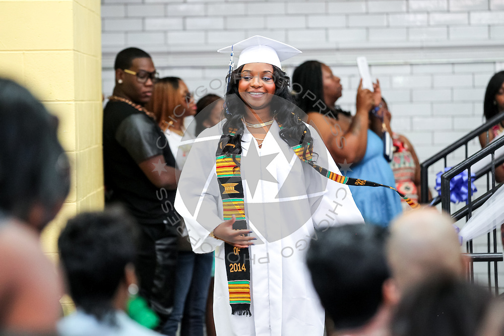 Powerhouse Academy class of 2014 graduation ceremony in Chicago, Saturday, June 7, 2014. (Photo by J.Geil/Chicago PhotoPress)