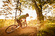 MOUNTAIN BIKING STOCK PHOTOGRAPHY PHOTOS PICTURES  UPPER PENINSULA MICHIGAN COPPER HARBOR MARQUETTE