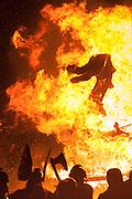 Up Helly Aa fire festival in Lerwick, Shetland Islands.