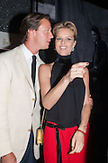 EVA HERZIGOVA; GREGORIO MARSIAJ, Dinner to celebrate the opening of the first Berluti lifestyle store hosted by Antoine Arnault and Marigay Mckee. Harrods. London. 5 September 2012.