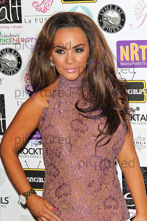 LONDON - AUGUST 30: Chelsee Healey attended the National Reality TV Awards, Porchester Hall, London, UK. August 30, 2012. (Photo by Richard Goldschmidt)