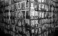 Auschwitz, former Nazi death camp, in Oswiecim, Poland's Nazi-era concentration camp..The photos of the victims of genocide at the concentration camp of Aushwitz.