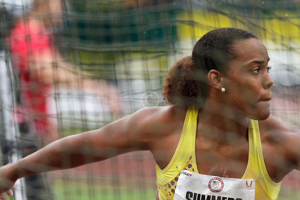 Olympic Trails Eugene 2012: Women's Discus, Jere Summers