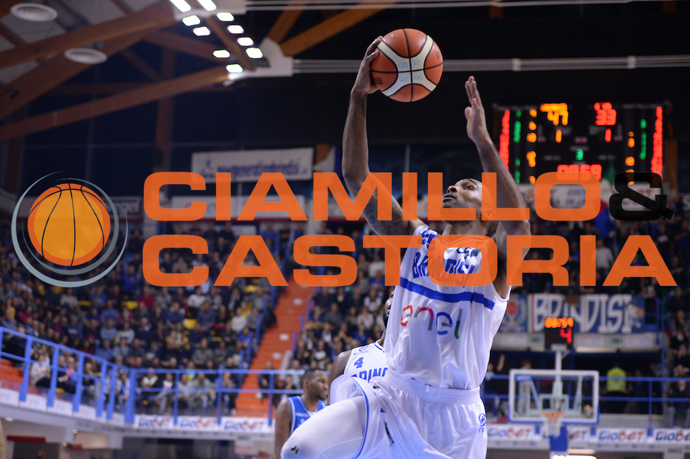 Goss Phil<br /> Enel Brindisi - Red October Cantu<br /> BASKET SerieA 2016-2017<br /> Brindisi 21 /11/2016 <br /> FOTO CIAMILLO