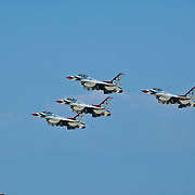 The Thunderbirds at Camarillo Airshow 2010. California, USA.