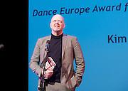 The Critics' Circle National Dance Awards 2016 <br /> at the Lilian Baylis Studio, Sadler's Wells, London, Great Britain <br /> <br /> 6th February 2017 <br /> <br /> Kim Brandstrup <br /> WINNER <br /> Dance Europe award for Best Modern Choreography <br /> <br /> <br /> Photograph by Elliott Franks <br /> Image licensed to Elliott Franks Photography Services