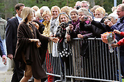 Prinses M&aacute;xima opent 7 oktober 2011 Exodushuis voor opvang van (voormalig) gedetineerden<br />