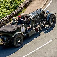Katarina Kyvalova & Knud Sassmannshausen in their Bentley 4½ Litre on the Royal Automobile Club 1000 Mile Trial 2015