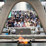 Japan Marks 71st Anniversary of Hiroshima and Nagasaki Atomic Bomb