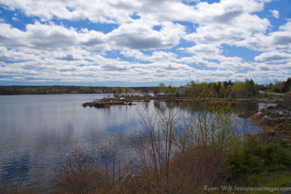 North America, Canada, Nova Scotia. Secenery along the Eastern Shore.