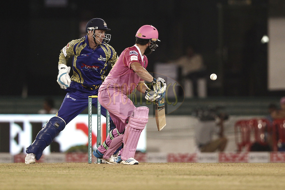 Vernon Philander of Cape Cobras  , Anton Devcich of the NORTHERN KNIGHTS during match 3 of the Oppo Champions League Twenty20 between the Cape Cobras and the Northern Knights held at the Chhattisgarh International Cricket Stadium, Raipur, India on the 19th September 2014<br /> <br /> Photo by:  Deepak Malik / Sportzpics/ CLT20<br /> <br /> <br /> Image use is subject to the terms and conditions as laid out by the BCCI/ CLT20.  The terms and conditions can be downloaded here:<br /> <br /> http://sportzpics.photoshelter.com/gallery/CLT20-Image-Terms-and-Conditions-2014/G0000IfNJn535VPU/C0000QhhKadWcjYs