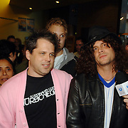 NLD/Amsterdam/20060930 - Premiere Jackass 2, Jeff Tremaine en Johnny Knoxville