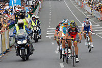Adelaide - Australie - wielrennen - cycling - radsport - cyclisme -  UCI ProTour - Santos Tour Down Under - 1e etappe - criterium - kopgroep met Lance Armstrong (Team RadioShack) <br /> PHOTO : PHOTO NEWS / DPPI