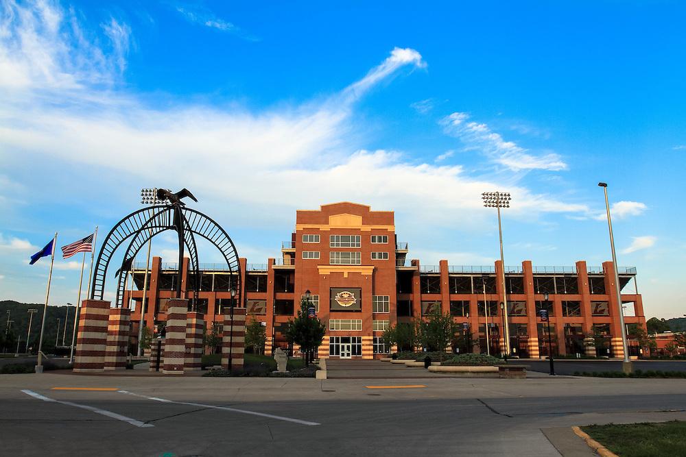 Veteran's Memorial Stadium. Please give photo credit to Mark Fei. UW-L Alumni.
