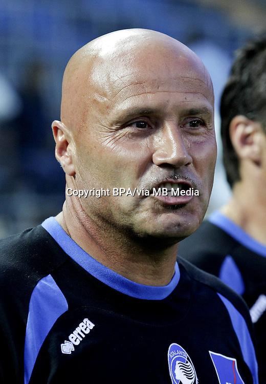 STEFANO COLANTUONO Coach of Atalanta Bc