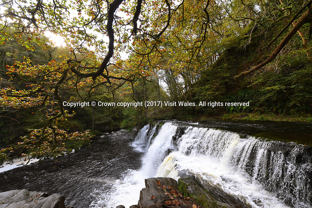 Sgwd Pannwr<br /> Brecon<br /> South Wales<br /> <br /> Wales News Service