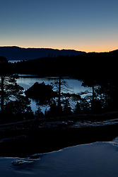 """Emerald Bay Sunrise 3"" - This sunrise was photographed from Eagle Falls above Emerald Bay, Lake Tahoe."
