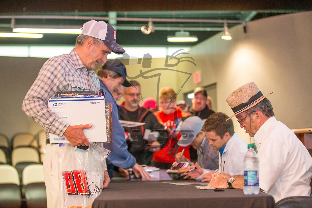 May 25, 2017 - Concord, NC, USA: Roush Fenway Racing holds their annual Fan Day at their corporate headquarters in Concord, NC.