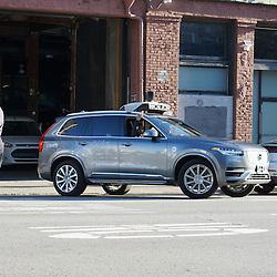 Uber Self Driving Car, San Francisco