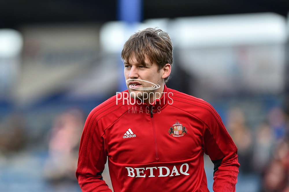 Sunderland Defender, Glenn Loovens (4) during the EFL Sky Bet League 1 match between Portsmouth and Sunderland at Fratton Park, Portsmouth, England on 22 December 2018.