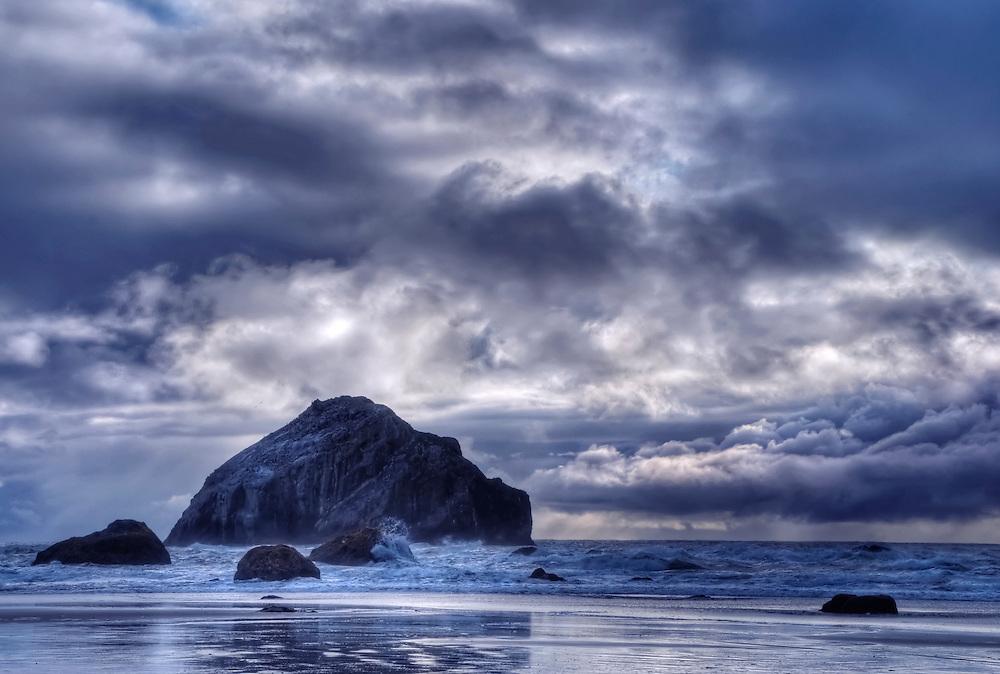 Face Rock, Face Rock State Park, Bandon Beach, Oregon.