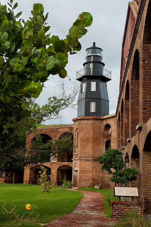 Fort Jefferson and Garden Key Lighthouse Courtyard 1.jpg