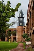 Fort Jefferson and Garden Key Lighthouse Courtyard 1.jpg