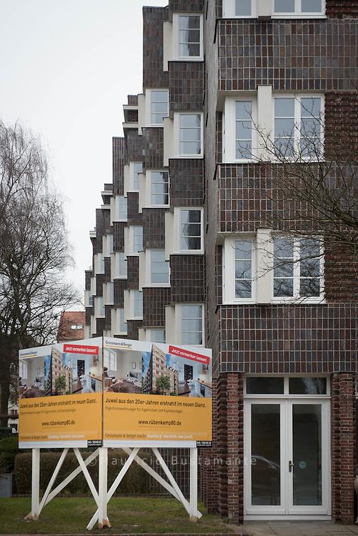 Die Wohnungen im Rübenkamp sollten schon bald zur Vermietung angeboten werden.