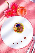 Tuna Poke -- photographed for Chef Alan Hughes' seafood cookbook