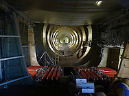 The interior of the Spruce Goose on display at the Evergreen Air Park in McMinnville, Oregon, Photo by Dennis Brack...