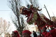 Capodanno cinese a Milano, 10 febbraio 2013.