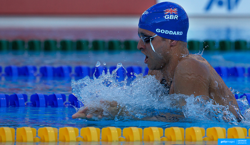 James Goddard, Great Britain, in action in the Men's 200m IM Semi Final at the World Swimming Championships in Rome on Wednesday, July 29, 2009. Photo Tim Clayton.