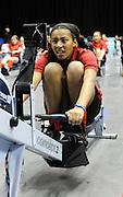 Birmingham, Great Britain,    Juniors racing the ergos, at the British Indoor Rowing Championships, National Indoor Arena, NIA,  Sun, 22.11.2009  [Mandatory Credit. Peter Spurrier/Intersport Images]