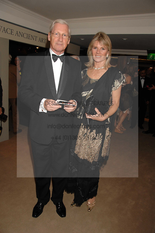 MR BARRY & LADY CHARLOTTE DINAN at the Grosvenor House Art & Antiques Fair Gala evening in aid of the UKs oldest childrens charity CORAM held at the Grosvenor House Hotel, Park Lane, London on 14th June 2007.<br /><br />NON EXCLUSIVE - WORLD RIGHTS