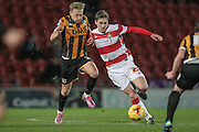 Conor Grant (Doncaster Rovers) during the Sky Bet League 1 match between Doncaster Rovers and Port Vale at the Keepmoat Stadium, Doncaster, England on 26 January 2016. Photo by Mark P Doherty.