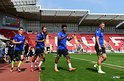 - Mandatory by-line: Alex James/JMP - 21/04/2018 - FOOTBALL - Aesseal New York Stadium - Rotherham, England - Rotherham United v Bristol Rovers - Sky Bet League One